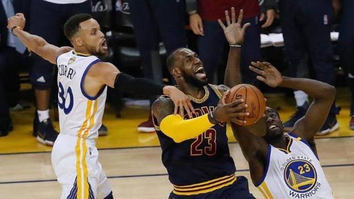 Golden State Warriors Cleveland Cavaliers Maci Ne Zaman