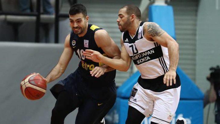 Beşiktaş Sompo Japan 80 - 86 Fenerbahçe