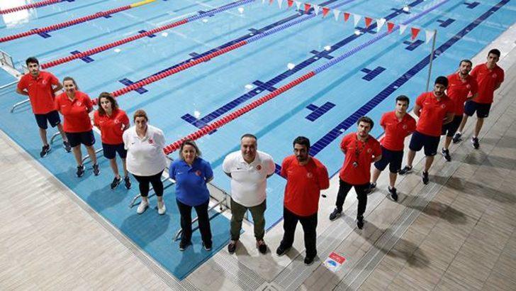 İşitme Engelliler Olimpiyatları'nda yüzücüler altın madalya bekliyor