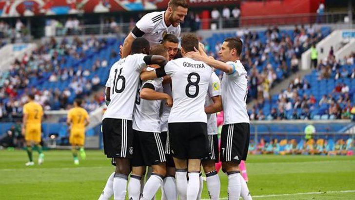 Avustralya 2 - 3 Almanya