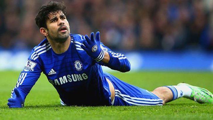 Diego Costa Atletico Madrid formasını giydi