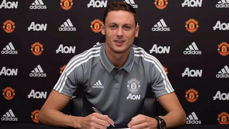 Matic 3 yıllığına Manchester United'da