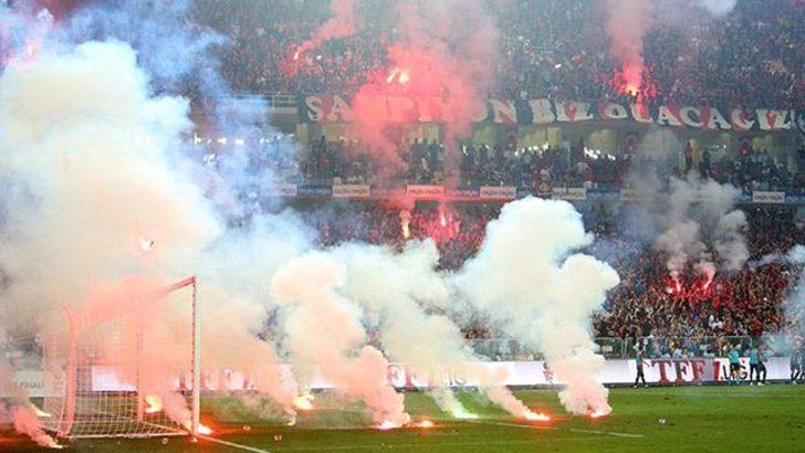 Göztepe-Eskişehirspor maçında çıkan olaylar nedenilye soruşturma başlatıldı