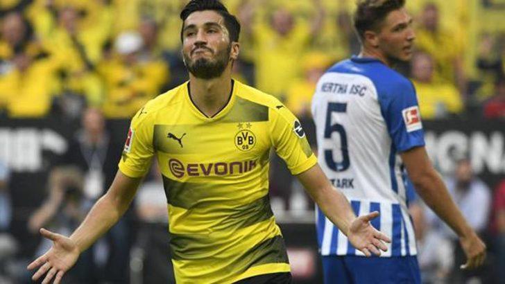 Nuri Şahin Bundesliga'da 2. haftanın en iyi oyuncusu seçildi