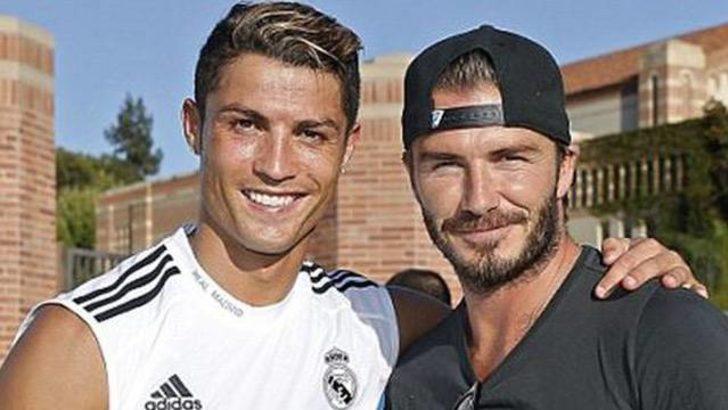 Beckham'ın hedefi Cristiano Ronaldo