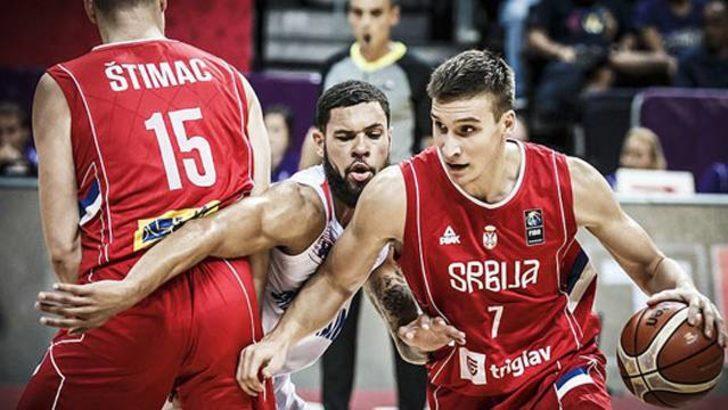 Sırbistan Büyük Britanya'yı 82-68 yendi