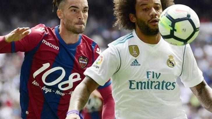 Real Madrid evinde puan kaybetti