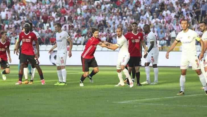 Demir Grup Sivasspor 0-2 Kayserispor