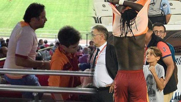 Antalyaspor-Galatasaray maçına damga vuran iki görüntü