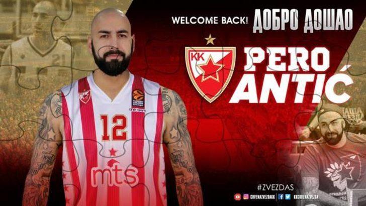 Fenerbahçe'nin yıldızı Pero Antic Kızılyıldız'a transfer oldu