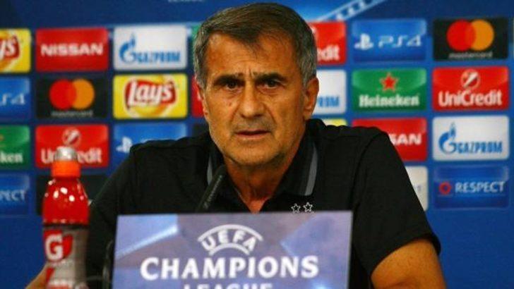 Porto-Beşiktaş maçı öncesi Şenol Güneş'ten iddialı açıklama