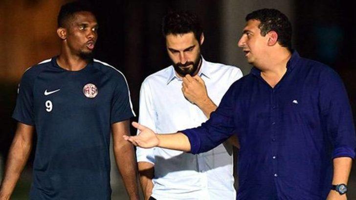 Ali Şafak Öztürk'ten Eto'o ve Nasri açıklaması