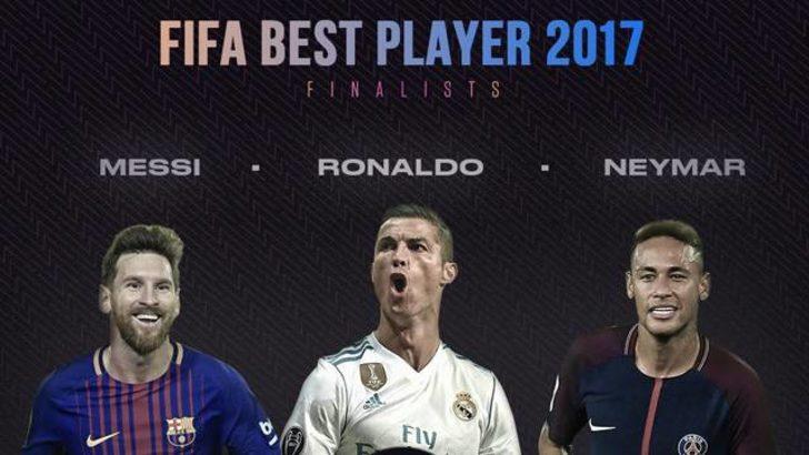 FIFA yılın oyuncusu adaylarını üçe düşürdü!