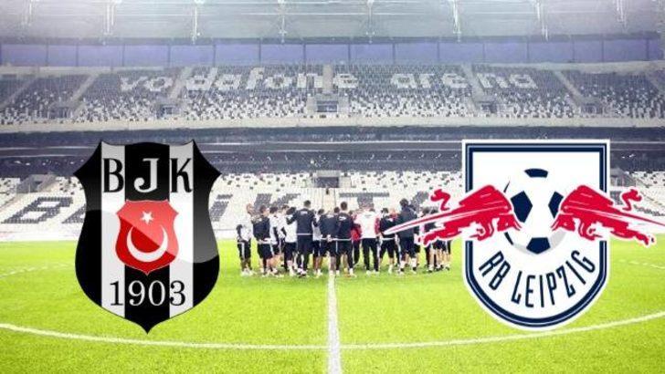 Beşiktaş Leipzig maçı saat kaçta, hangi kanalda yayınlanacak? İşte Beşiktaş'ın ilk onbiri