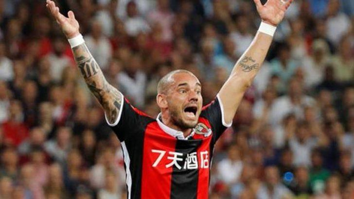 Wesley Sneijder'e büyük şok