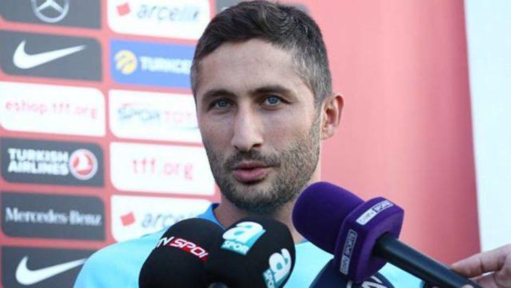 """Sabri Sarıoğlu: """"Milli takıma gururla geldim"""""""