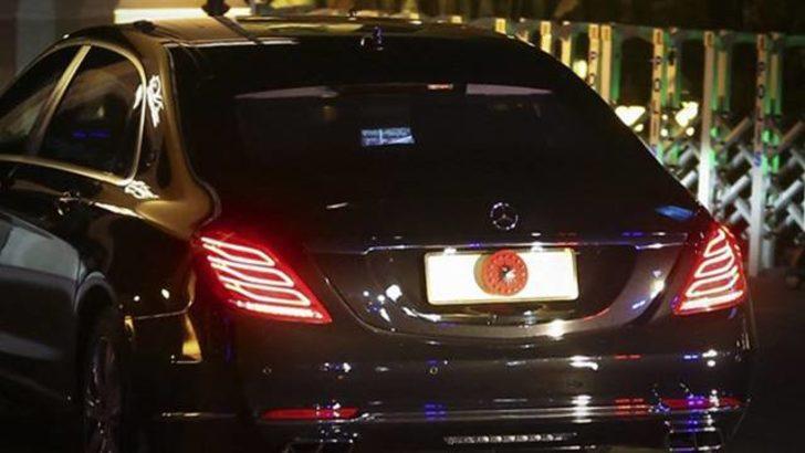Cumhurbaşkanı Erdoğan milli maçı makam arabasında izledi