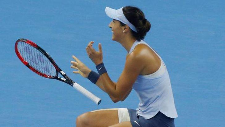 Çin Açık'ta şampiyon Caroline Garcia