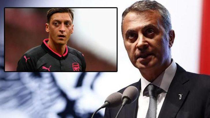 Fikret Orman'dan Mesut Özil'e telefon