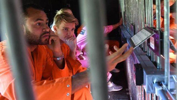 Heerenveenli futbolculara hapis cezası!