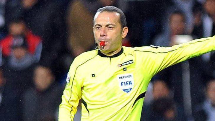 Galatasaray - Fenerbahçe maçını Cüneyt Çakır yönetecek