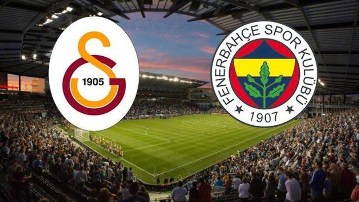 Galatasaray-Fenerbahçe   11'ler belli oldu
