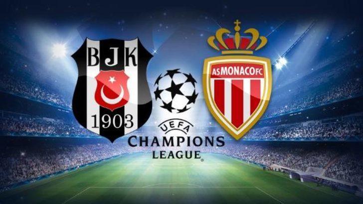 Beşiktaş - Monaco maçı ne zaman, saat kaçta, hangi kanalda? Beşiktaş - Monaco maç saatine dikkat!