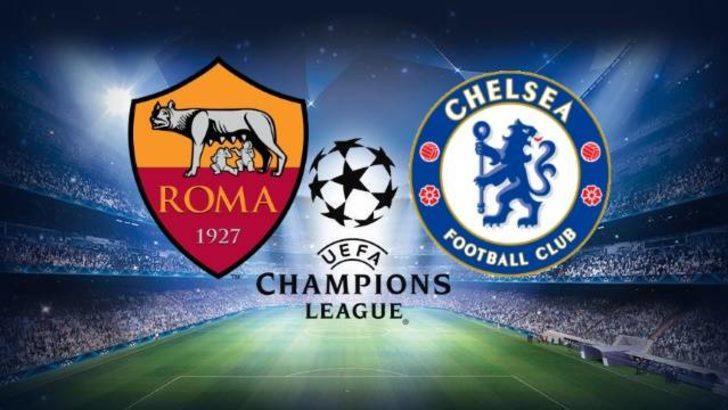 Roma - Chelsea maçı ne zaman, saat kaçta, hangi kanalda? Roma - Chelsea maçı şifresiz mi olacak?