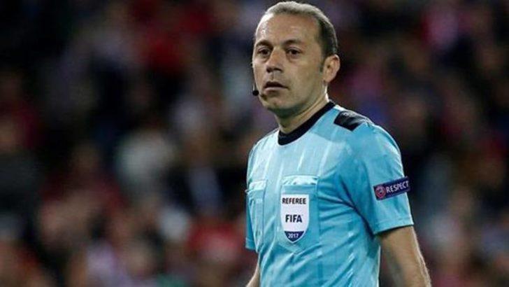 Cüneyt Çakır İsveç-İtalya maçını yönetecek