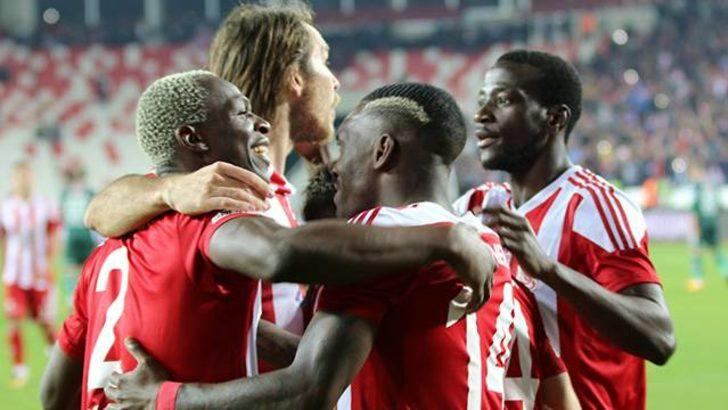 Demir Grup Sivasspor 2 - 1 Atiker Konyaspor