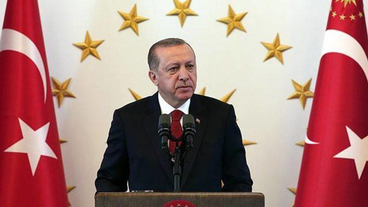 Cumhurbaşkanı Recep Tayyip Erdoğan'dan yabancı sınırı açıklaması