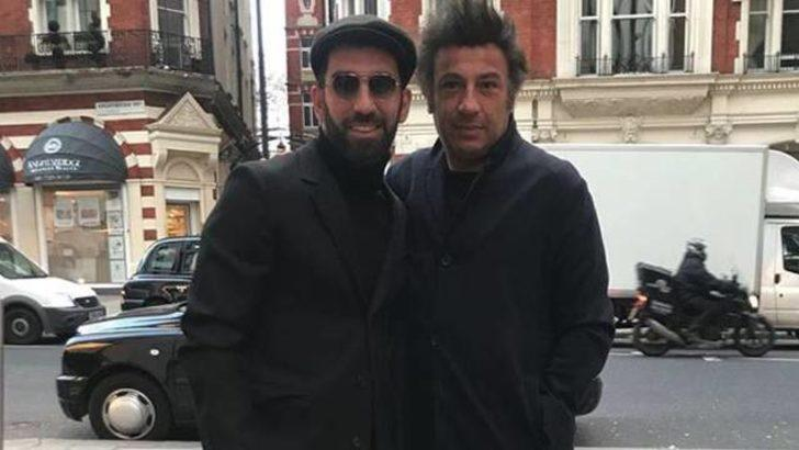 Arda Turan ve menajeri Ahmet Bulut Londra'da görüntülendi