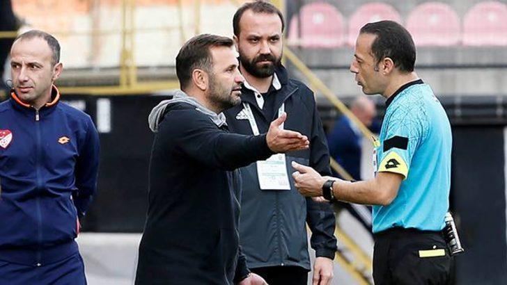 Cüneyt Çakır'dan Teleset Mobilya Akhisarspor - Evkur Yeni Malatyaspor maçında skandal karar