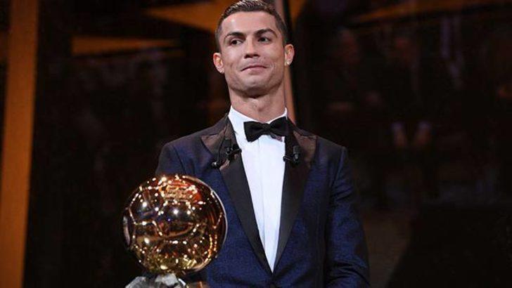 2017 Ballon d'Or ödülü Cristiano Ronaldo'nun