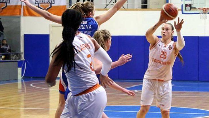 Çukurova Basketbol 104 - 41 Bornova Beckerspor