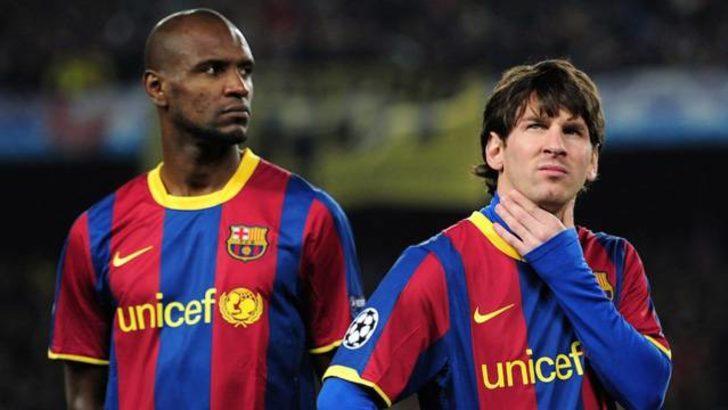 Messi'den kanser olan Abidal'e şok sözler!