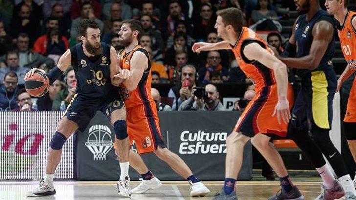 Valencia Basket 67 - 80 Fenerbahçe Doğuş