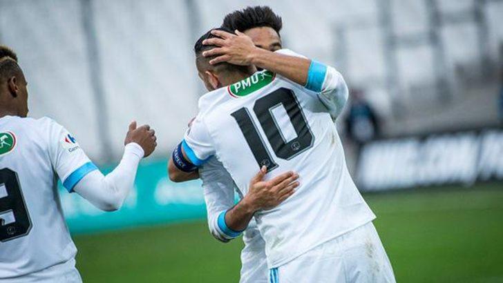 Marsilya, Bourg-en-Bresse'i 9-0 yendi