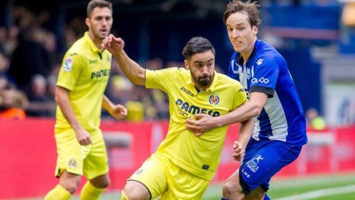 Villarreal 1 - 2 Alaves (Maç özeti)