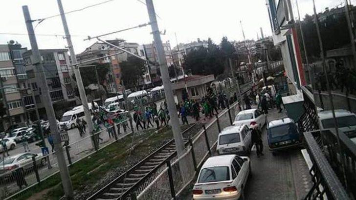 Teleset Mobilya Akhisarspor - Bursaspor maçının ardından olaylar çıktı