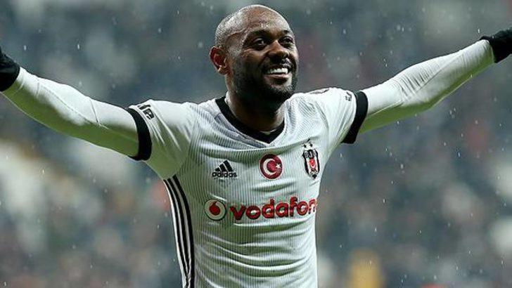 Vagner Love Beşiktaş'ta seriyi sürdürme peşinde