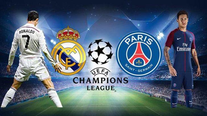 Real Madrid - PSG maçı ne zaman, saat kaçta, hangi kanalda? (Real Madrid - PSG maçı şifresiz veren kanallar)