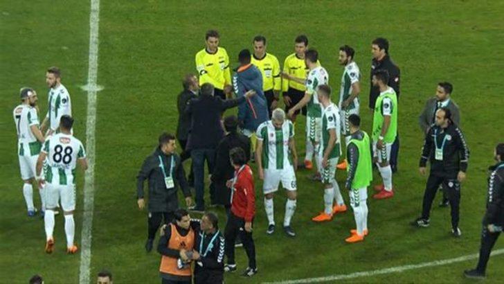 Şenol Güneş'ten Konyasporlu oyunculara olay hareket!