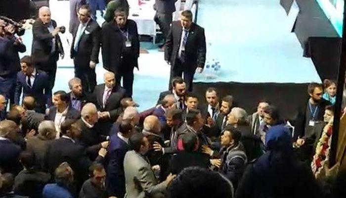 İYİ Parti il kongresinde kavga!