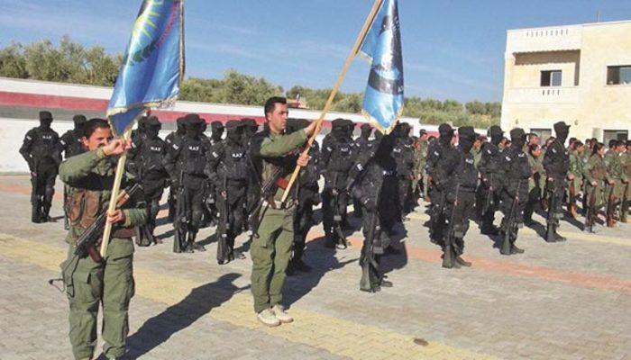 ABD 28 yıldır özel eğitim verdiği PKK'lı teröristleri Afrin'e getirdi