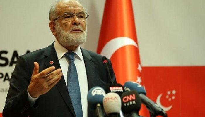 Saadet Partisi Genel Başkanı Karamollaoğlu 'ittifak' şartlarını açıkladı