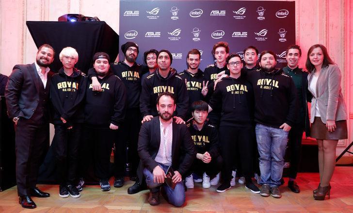 Asus Republic of Gamers espor kulübü Royal Bandits'e sponsor oldu