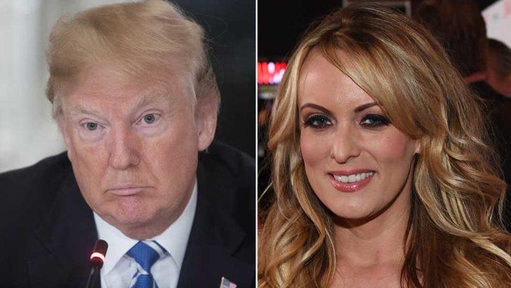 Porno yıldızı Stormy Daniels Trump'a dava açtı
