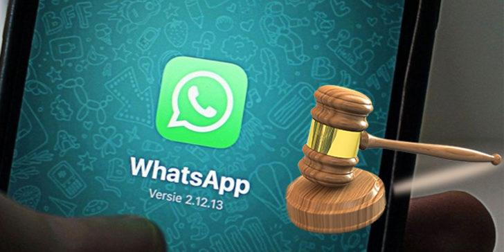 WhatsApp'a yargı şoku!