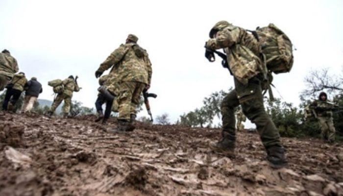 Afrin'de teröristlerin savunma hattı çöktü! Merkeze 8 kilometre kaldı